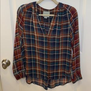 Anthropologie Meave shirt size xsmall